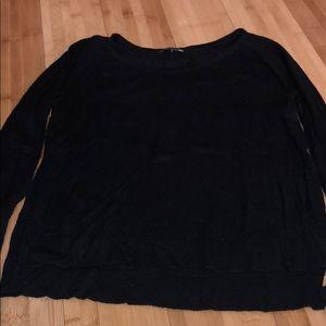 Black Rag & Bone perforated sweater